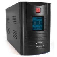 ИБП Ritar RTM1200 (720W) Proxima-D, LCD, AVR, 4st, 3xSCHUKO socket, 2x12V7.5Ah, metal Case (350х120х