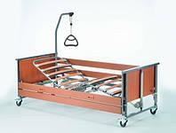 4-х секционная кровать Medley Ergo  с электроприводом деревянные ламели (1568876-0152) INVACARE (Германия)