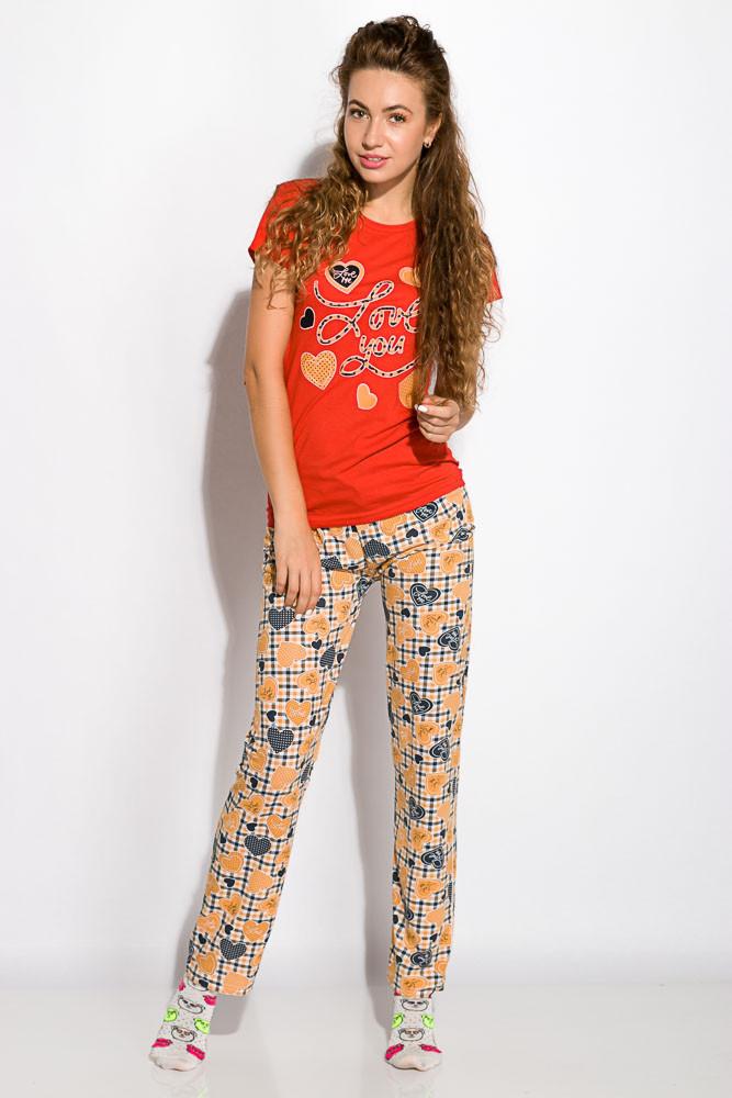 Пижама женская 317F089 (Красный)