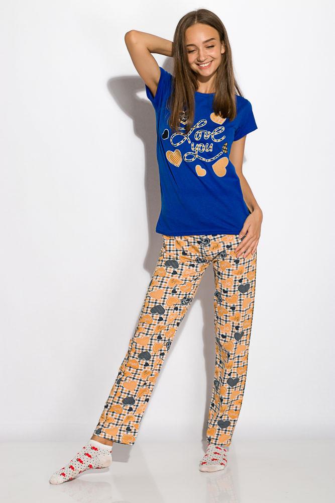 Пижама женская 317F089 (Синий)