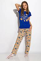 Пижама женская 317F089 (Синий), фото 1