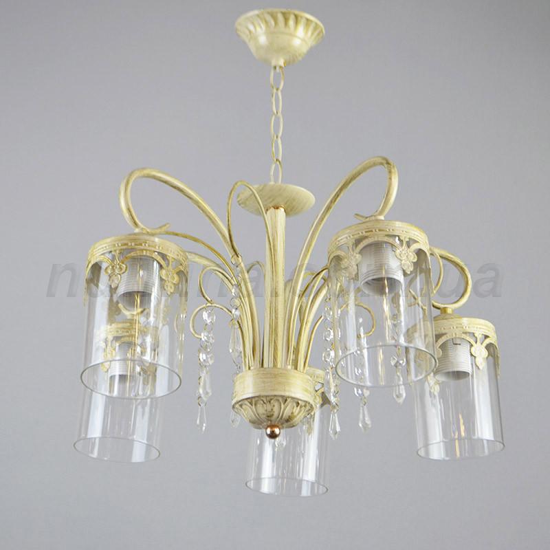 Люстра подвесная на пять ламп 29-L023/5 цепь WT