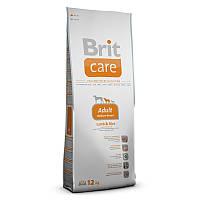 Brit Care (Брит Кеа) Adult Medium Breed (3 кг) корм для взрослых собак средних пород с ягненком и рисом