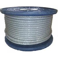 Трос в пвх оболочке DIN 3055 1/2 mm (бухта 200 м)