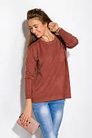 Свитер женский кирпичного цвета, фото 1