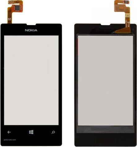 Сенсор (тачскрин) Nokia Lumia 521 Black