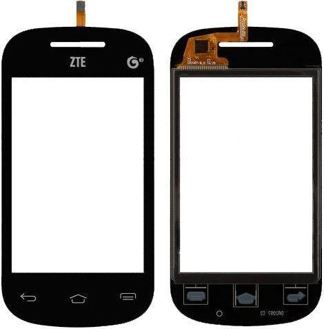 Сенсор (тачскрин) ZTE V795 Black