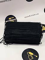 Маска медицинская, черная, упаковка 50 штук