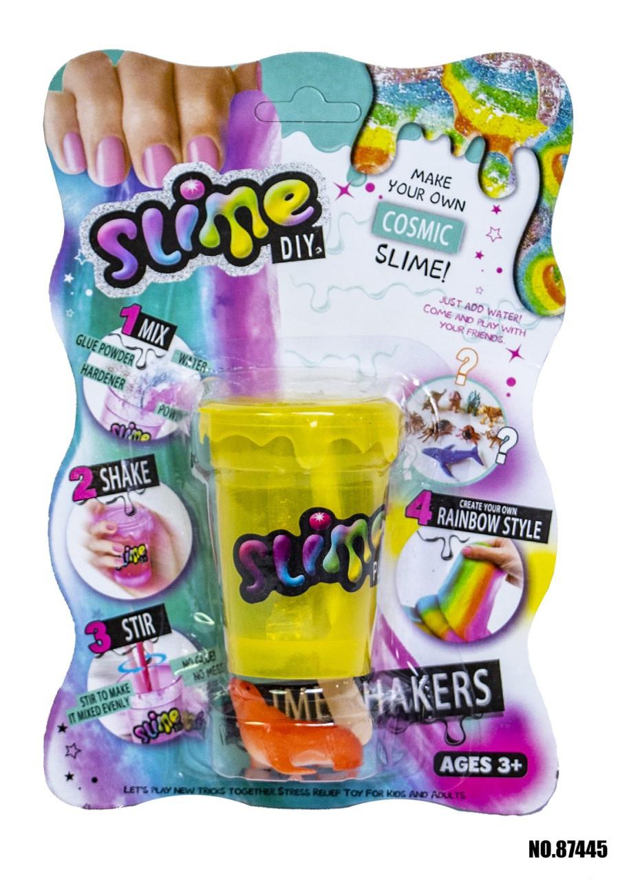 Slime Слайм блістер DIY JDY907000179 (білий/синій/фіолетовий)