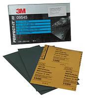 """Сверхтонкий водостойкий абразив 3М 401Q """"Magic"""", размер листа: 138 x 230, зерно: P1500 (09545)"""