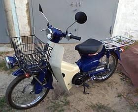Мопед на работу Honda Super Cub 50 2010 года инжектор категории Люкс японский скутер Хонда куб