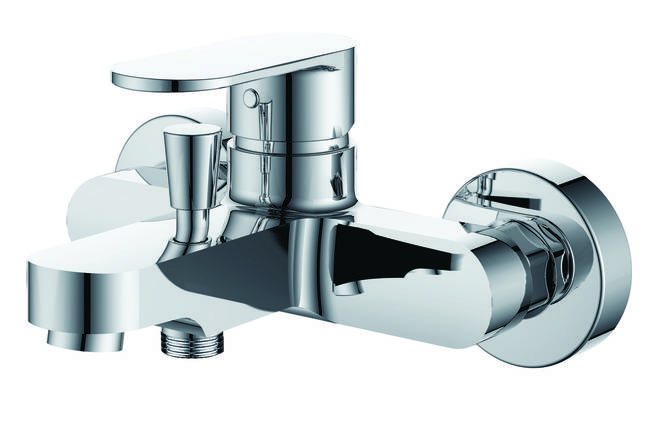 Round Arc смеситель однорычажный для ванны 35 мм, фото 2