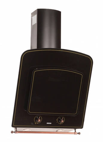 Кухонна витяжка Eleyus Класик LED А 1000 BG / 60 (чорна), фото 2