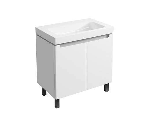 Modo Шкафчик под умывальник 80 см, белый глянец, фото 2