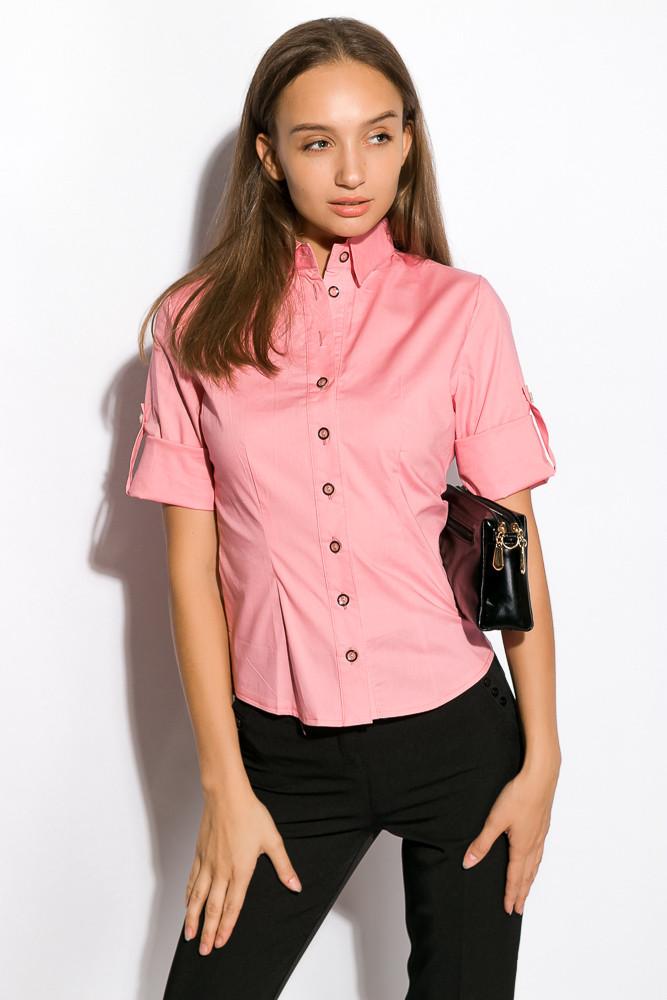Рубашка женская 118P100 (Розовый)