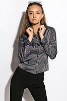 Блуза женская 118P095 (Черный), фото 1