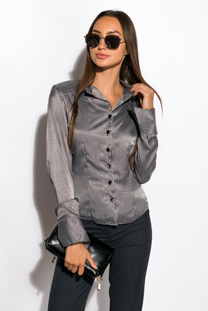 Блуза женская 118P096 (Черно-белый)
