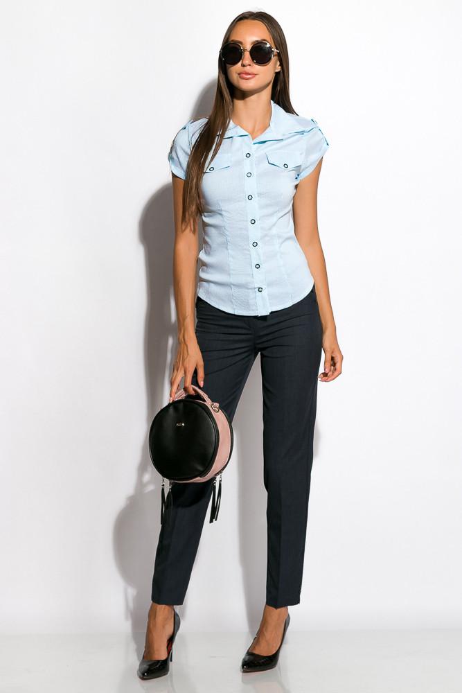 Рубашка женская 118P014-1 (Голубой)