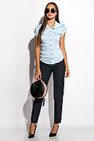 Рубашка женская 118P014-1 (Голубой), фото 1