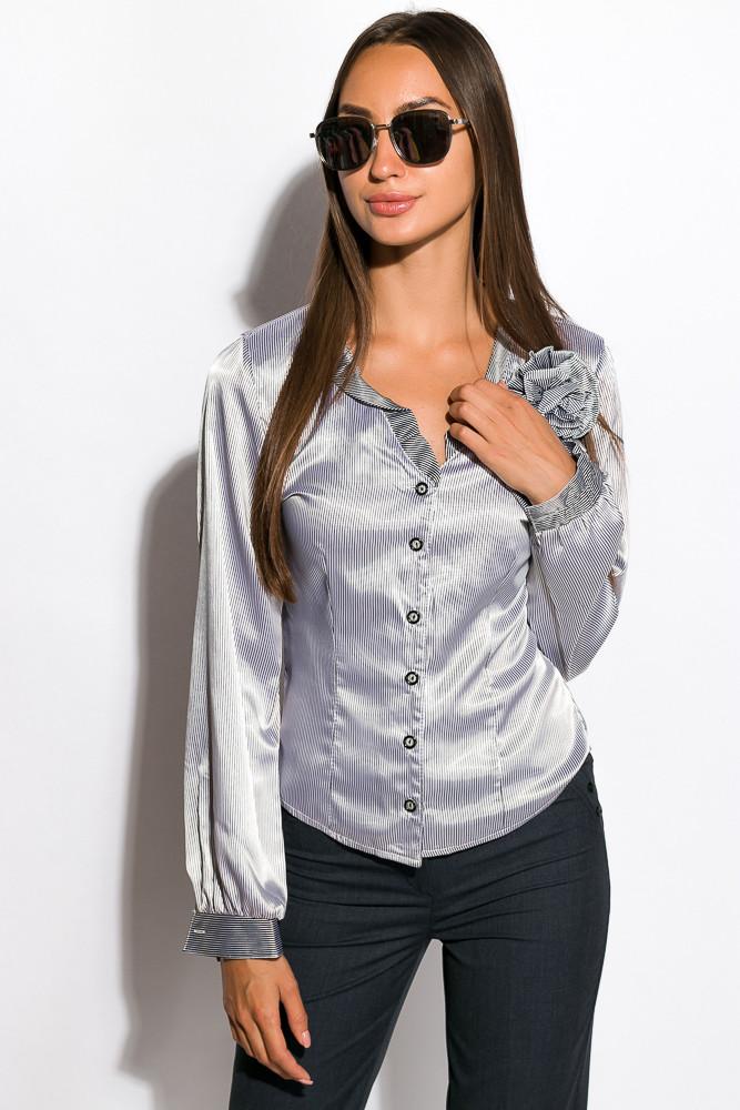 Блуза женская 118P099 (Светло-серый)