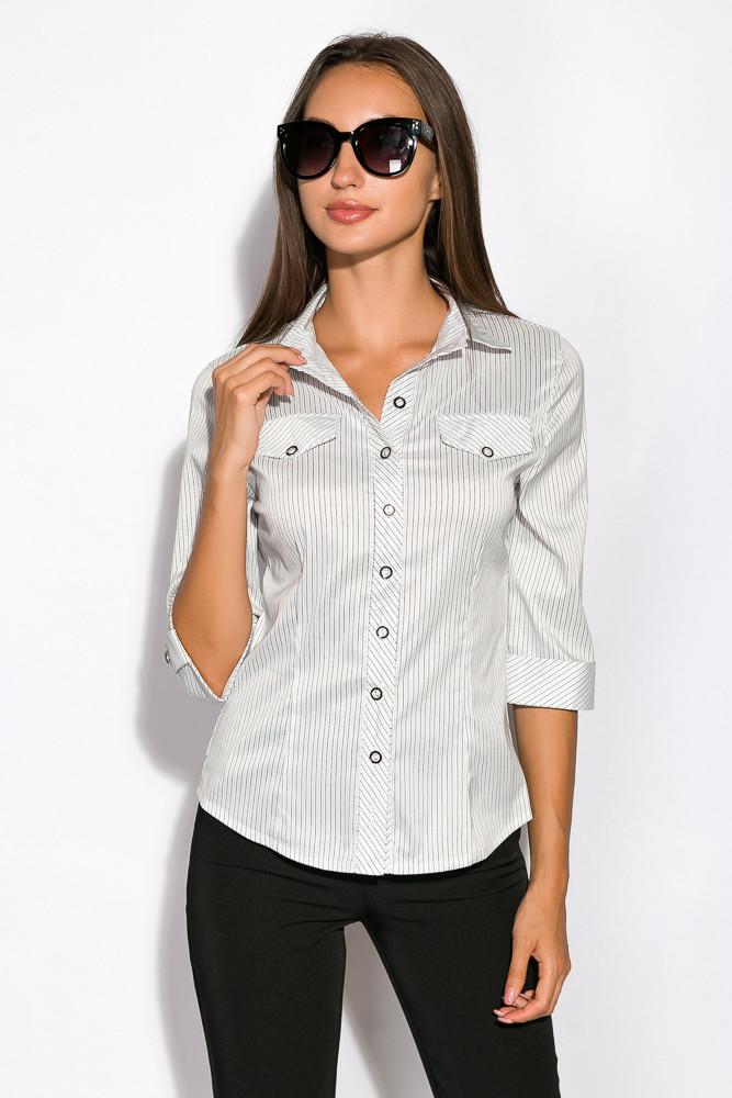 Рубашка женская 118P053-1 (Светло-серый)