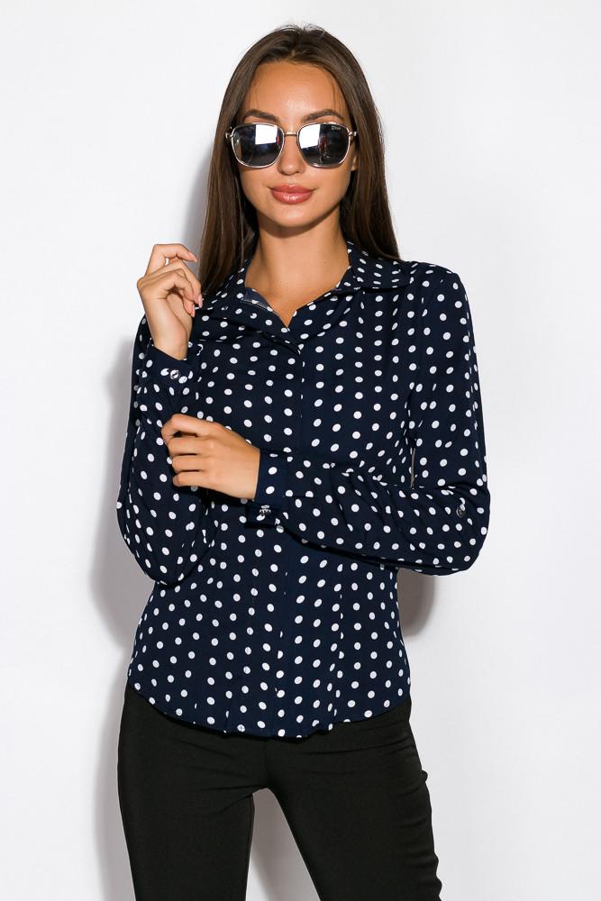 Рубашка женская 118P060-1 (Синий)