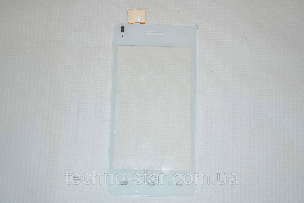 Оригинальный тачскрин / сенсор (сенсорное стекло) для Fly IQ4491 Era Life 3 (белый цвет)