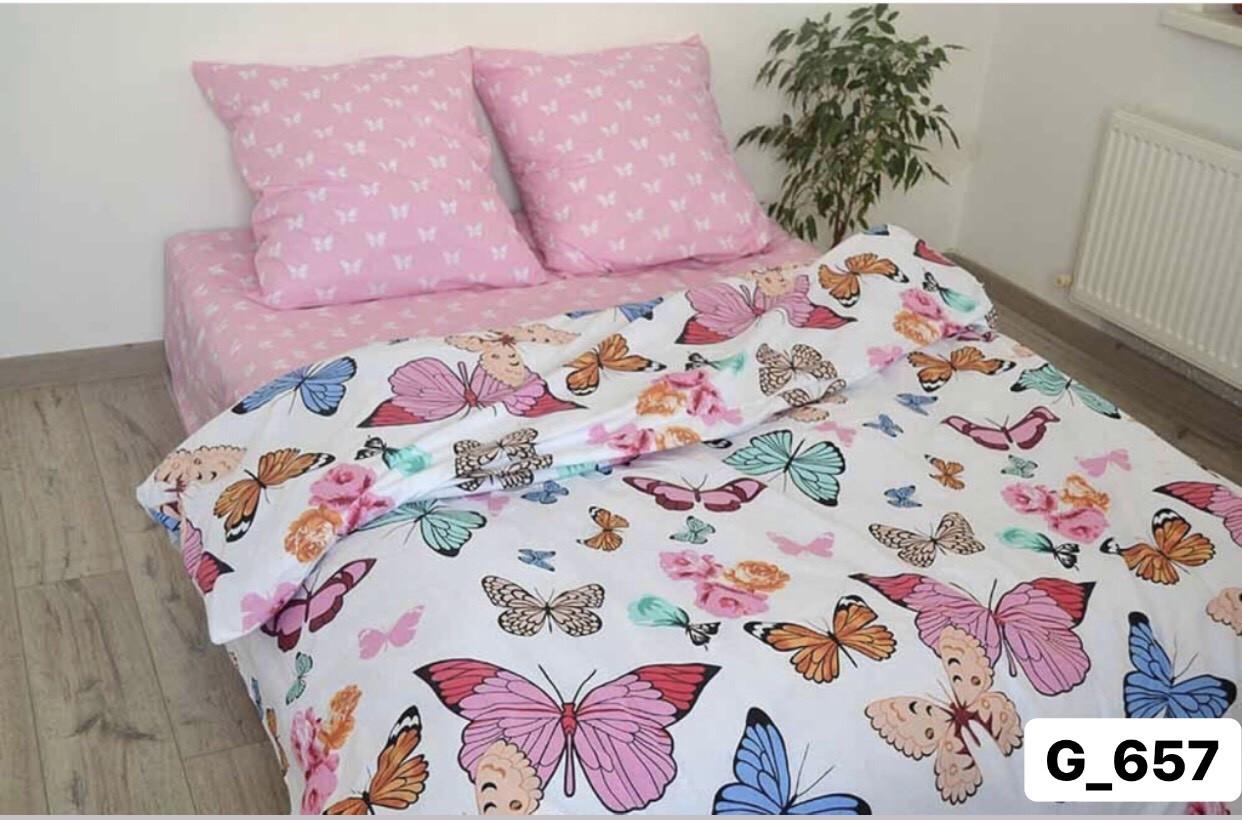 Полуторное постельное бельё Бабочки