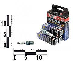 Свеча зажигания Silver CHEVROLET Lacetti 1.8, Captiva 2.0, 2.4 комплект (BRISK). DR17YS