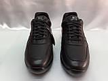 Стильные осенние кожаные полуботинки под кроссовки Bertoni, фото 5