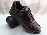 Стильные осенние кожаные полуботинки под кроссовки Bertoni, фото 6