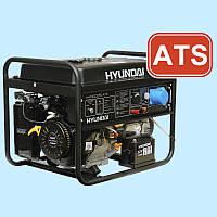 Генератор бензиновый HYUNDAI HHY 7000FE ATS (5.0 кВт)