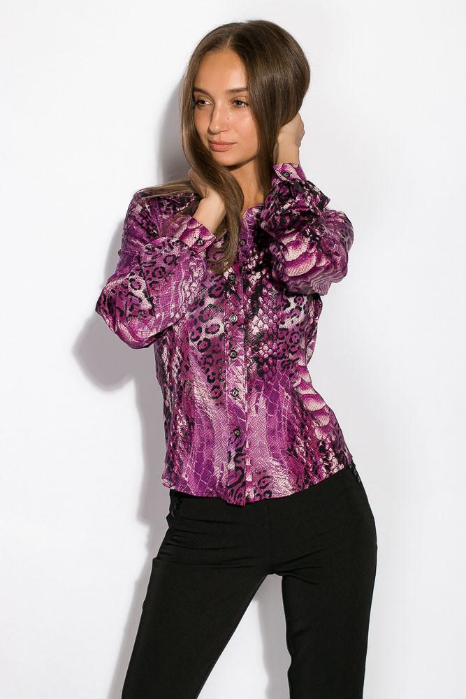 Рубашка женская 118P112-2 (Сиреневый)