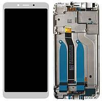 Дисплей (экран) для телефона Xiaomi Redmi 6, Redmi 6A + Touchscreen with frame (copy) Gold