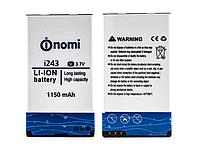 Оригинальный аккумулятор ( АКБ / батарея ) NB-243 для Nomi i243 1150mAh