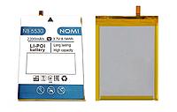 Оригинальный аккумулятор ( АКБ / батарея ) NB-5530 для Nomi i5530 Space X 2200mAh