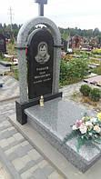 Пам'ятники із сірого граніту покостівка