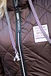 Зимова куртка жіноча Стьобаний плащівка на синтепоні Розмір 44 46 48 50 52 54 56 58 60 62 В наявності 7 кольорів, фото 9