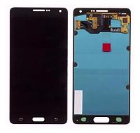 Дисплей (модуль) + тачскрин (сенсор) Samsung Galaxy A7 A700F A700H A700K A700S (черный, яркость регулируется)