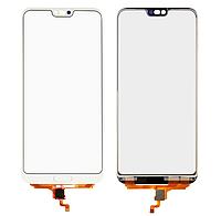 Оригинальный тачскрин / сенсор (сенсорное стекло) для Huawei Honor 10 (белый цвет, COL-L29)