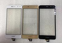 Оригинальный тачскрин / сенсор (сенсорное стекло) для Huawei Y5 2017 (MYA-U29) | Y5 3 | Y6 2017 4G (золотой)