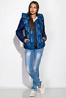 Куртка женская на молнии, с капюшоном, фото 1