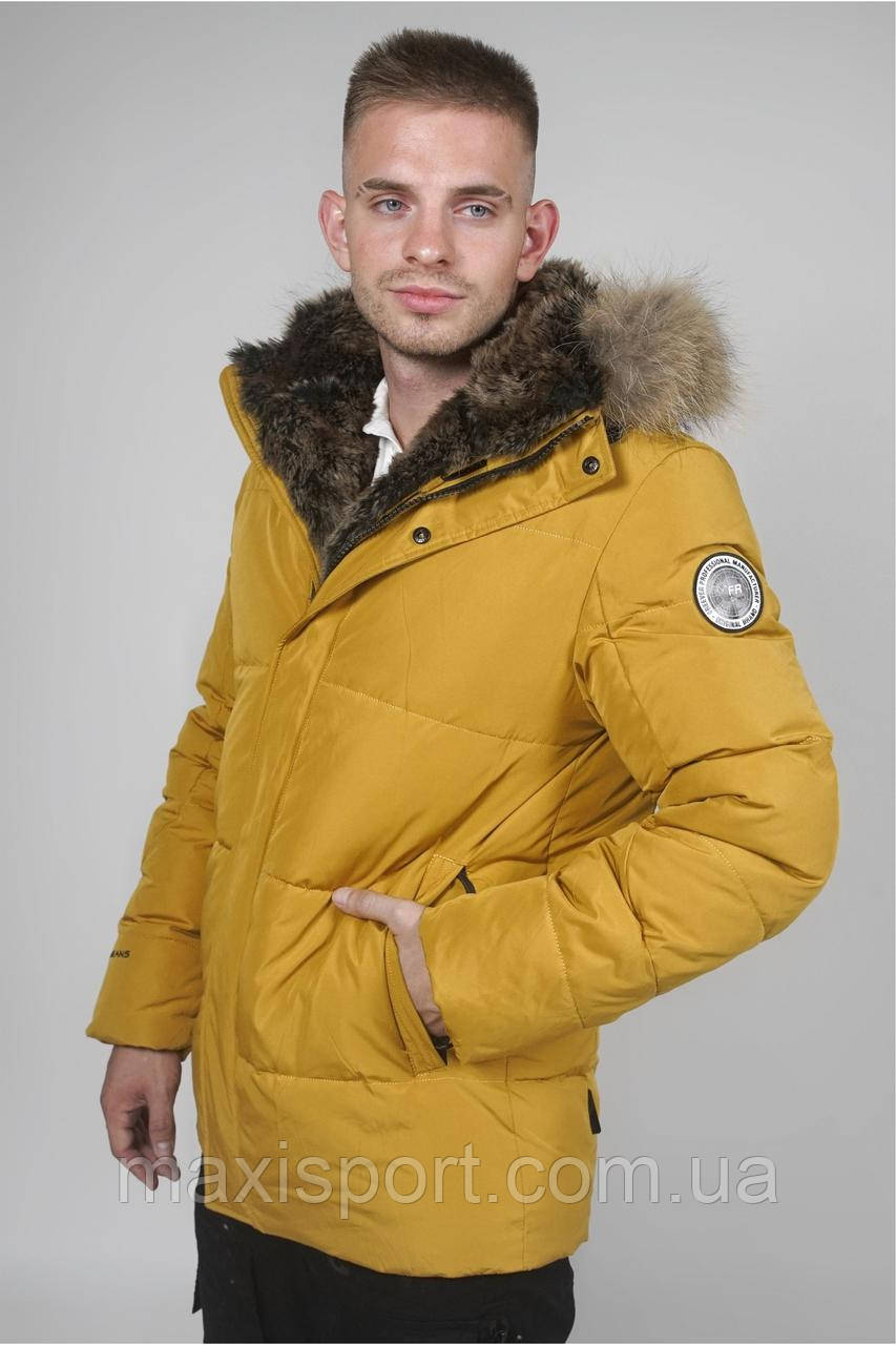 Парка мужская Freever (331) Желтый, M