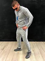 Костюм спортивный мужской Adidas серый