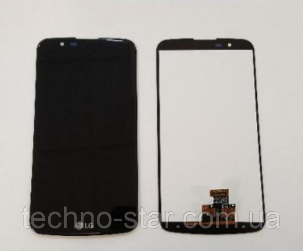 Оригинальный дисплей (модуль) + тачскрин (сенсор) для LG K10 3G Dual SIM | K410 | K420 | K430 | MS428 (черный)