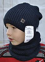 Модная зимняя шапка и шарф-хомут Agbo (Польша).