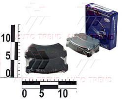 Колодки тормозные задние DAEWOO/CHEVROLET LACETTI/NUBIRA II дисковые (Frico). FC 815