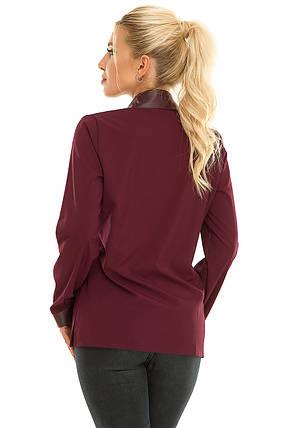 Рубашка 617 сливовая, фото 2