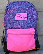 Рюкзак для девочки Winner фиолетовый  167, фото 2