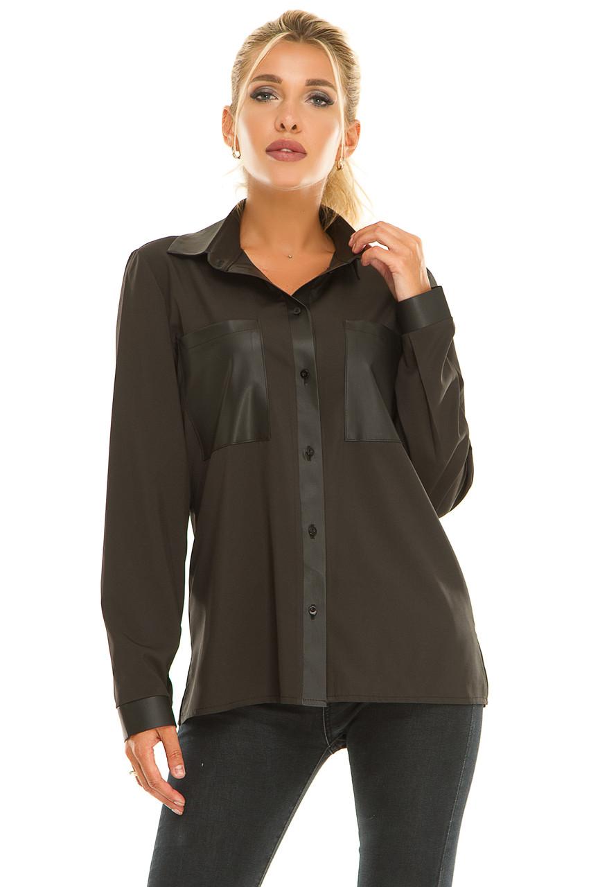 Рубашка 617 черная